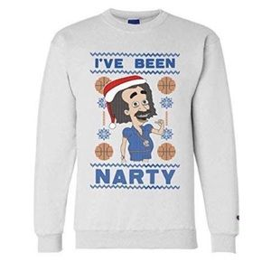 """🆕 Champion """" NARTY"""" Ugly Christmas Sweatshirt"""